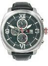 Tommy Hilfiger Multifunction Black Leather Strap Men's watch #1790967