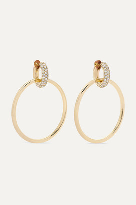 Spinelli Kilcollin Casseus 18-karat Gold Diamond Earrings