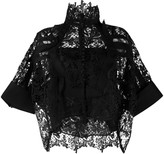 Sacai lace loose fit blouse