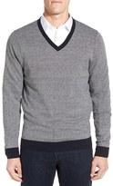 Nordstrom Men's Textured V-Neck Sweater