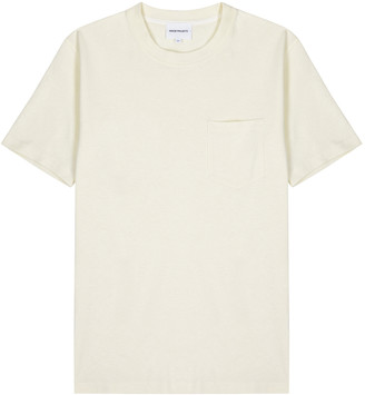 Norse Projects Johannes off-white cotton T-shirt