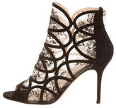 Jimmy Choo Lace Ankle Boots