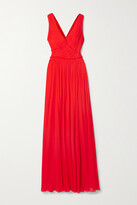 Thumbnail for your product : Jason Wu Collection Gathered Stretch-jersey Gown - US0