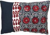 Kim Salmela Riya 14x20 Pillow - Navy/Red