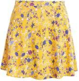 Even&Odd Mini skirt yellow