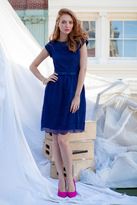 Shabby Apple Alice Dress Navy Blue