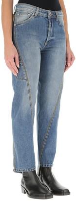 Lanvin Twisted Leg Denim Jeans