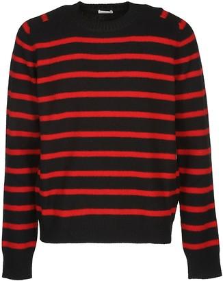 Saint Laurent Striped Knit Sweater