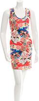 Carven Floral Print Mini Dress