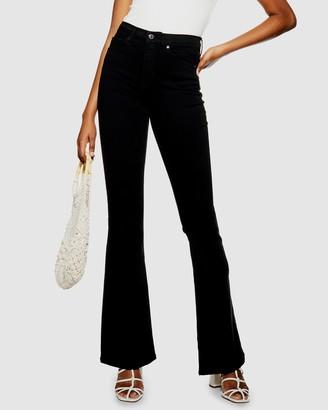 Topshop Jamie Flare Skinny Jeans