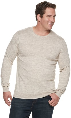 Sonoma Goods For Life Big & Tall SONOMA Goods for Life Supersoft Modern-Fit Crewneck Sweater