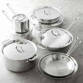 All-Clad Tri-Ply Stainless-Steel 14-Piece Cookware Set