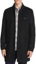 HUGO Mazon Wool Cashmere Bomber Overcoat