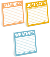 Knock Knock Whatever, Reminder & Just Sayin' Sticky Note Set