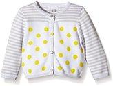 Absorba Baby Girls Lemon Tree LF Striped Cardigan - Yellow -