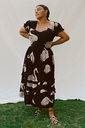 Swans Maxi Dress By The Odells in Assorted Size XS