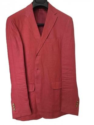 Polo Ralph Lauren Red Linen Jackets