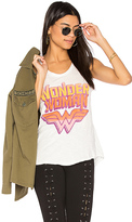 Junk Food Clothing Wonder Woman Tank in Ivory. - size L (also in M)