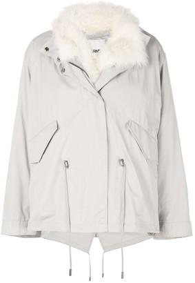 Yves Salomon Padded Parka Coat