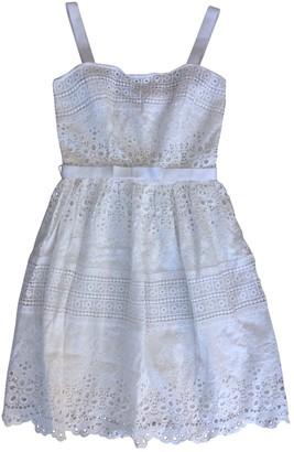 Collette Dinnigan White Cotton Dress for Women