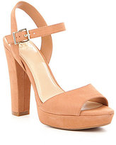 GB City-Limits Platform Nubuck Dress Sandals