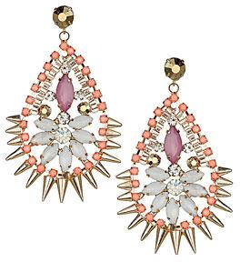 Dorothy Perkins Spike chandelier earrings