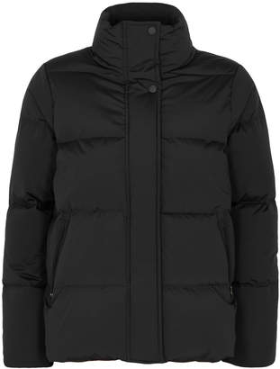 Woolrich Black Quilted Shell Jacket