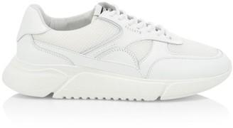 Axel Arigato Genesis Mesh Leather Low-Top Sneakers