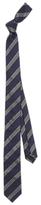HUGO BOSS HUGO by Diagonal Stripe Silk Tie, Navy