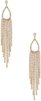 Ettika Teardrop Chandelier Earrings