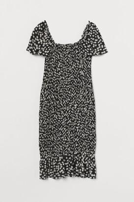 H&M MAMA Smocked Dress