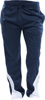 Soffe Navy & White Splice Tricot Active Pants