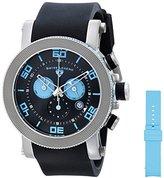 Swiss Legend Men's 30465-01-BBLA Cyclone Analog Display Swiss Quartz Black Watch