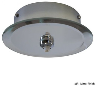 W.A.C. Lighting Round Mirrored 1-Light Quick Connect Canopy