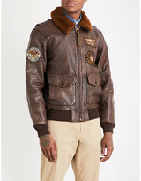 Polo Ralph Lauren G1 leather bomber jacket