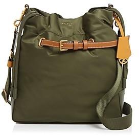 Tory Burch Perry Nylon Drawstring Bucket Bag