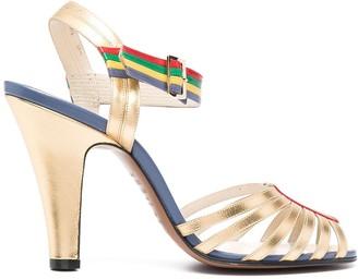 Salvatore Ferragamo 110mm Strappy Sandals