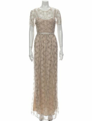 Needle & Thread Lace Pattern Long Dress