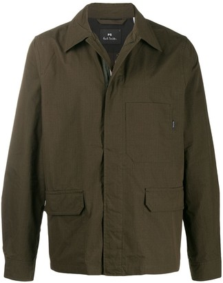 Paul Smith Zipped Fitted Jacket