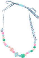 Osh Kosh Beaded Ribbon Necklace