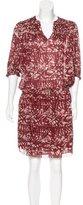 Ulla Johnson Silk Batik Print Dress