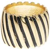 Ariella Collection Fluted Barrel Ring