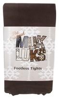 Muk Luks Women's Microfiber Footless Tights