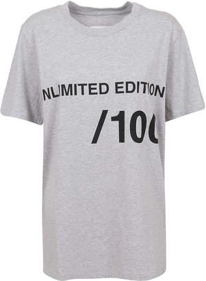 MM6 MAISON MARGIELA Grey Cotton T-shirt