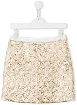 Kenzo crease-effect skirt