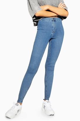 Topshop Womens Bleach Joni Jeans - Bleach Stone