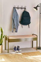 Urban Outfitters Jonah Perforated Storage Bench