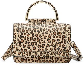 Sole Society Small Evar Faux Leather Crossbody Bag