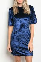 Alythea Midnight Velvet Dress