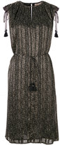 Michael Kors fitted dress with tassels - women - Polyester - XS